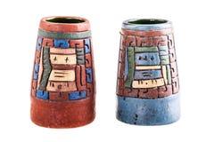 Мексиканская ваза inca Стоковые Изображения RF