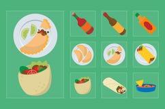 Мексиканская еда 001 бесплатная иллюстрация