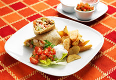 Мексиканская еда - Taquitos Стоковые Фотографии RF