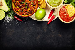 Мексиканская еда стоковое фото