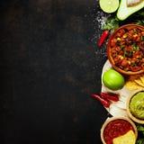 Мексиканская еда стоковое изображение