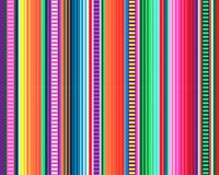 Мексиканская картина половика serape stripes вектор иллюстрация штока