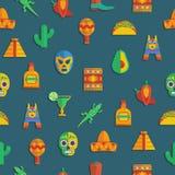 мексиканская картина иллюстрация штока