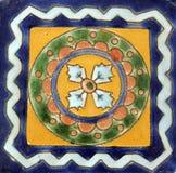 мексиканская квадратная плитка Стоковые Фотографии RF