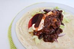Мексиканская кухня - соус моли Стоковые Изображения