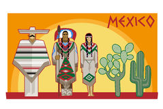 Мексиканская культура Стоковые Фотографии RF