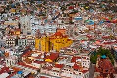 Мексиканская перспектива Гуанахуато Мексика Стоковое фото RF