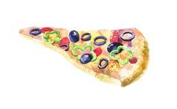 мексиканская пицца Стоковые Изображения RF