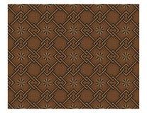 Мексиканская плитка традиционного искусства коричневая стоковое фото