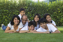 Мексиканская семья 3 стоковое изображение rf