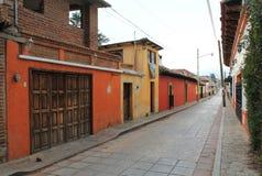Мексиканская сцена улицы стоковое фото