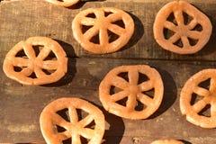 Мексиканская тучная глубок-зажаренная легкая закуска пшеницы Стоковые Фотографии RF