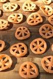 Мексиканская тучная глубок-зажаренная легкая закуска пшеницы Стоковое Фото