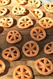 Мексиканская тучная глубок-зажаренная легкая закуска пшеницы Стоковые Изображения