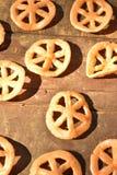 Мексиканская тучная глубок-зажаренная легкая закуска пшеницы Стоковое Изображение RF