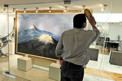 Мексиканские горы вулкана Стоковые Изображения