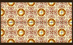 Мексиканские красные плитки Стоковое фото RF