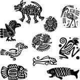 мексиканские мотивы иллюстрация вектора