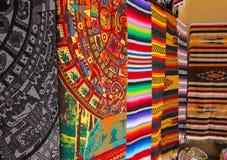 Мексиканские одеяла Стоковые Изображения RF