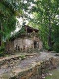 мексиканские руины стоковые фотографии rf