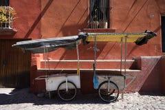 Мексиканские тележки поставщика стоковые фото