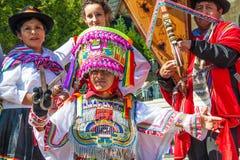 Мексиканские традиционные танцоры Стоковая Фотография