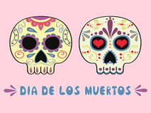 Мексиканские черепа Стоковое Изображение RF