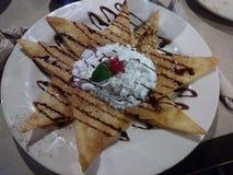 Мексиканские Nachos десерта Стоковые Изображения