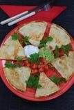 мексиканские quesadillas Стоковые Фотографии RF