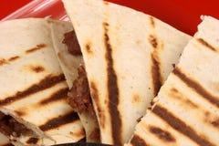 мексиканские quesadillas Стоковая Фотография