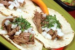 мексиканские taquitos типа Стоковые Изображения