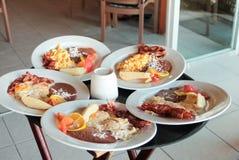 Мексиканский завтрак для 5 Стоковая Фотография RF