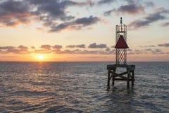 Мексиканский залив в Корпус Кристи стоковые изображения rf