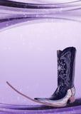 Мексиканский заострённый плакат ботинка - мексиканские соплеменные танцы клуба нот стоковая фотография