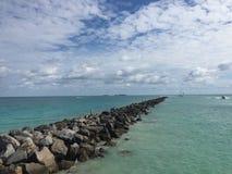 Мексиканский залив, на посадках, Fort Myers, Флорида, США Стоковое Изображение