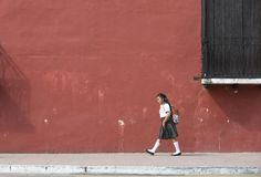 Мексиканский идти школьницы Стоковые Изображения RF