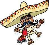 мексиканский музыкант Стоковые Изображения RF