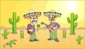 Мексиканский музыкант бесплатная иллюстрация