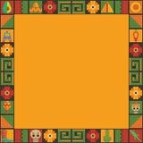 Мексиканский орнамент рамки бесплатная иллюстрация