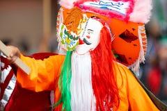 Мексиканский парад независимости стоковое изображение