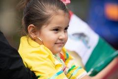 Мексиканский парад независимости стоковые фотографии rf