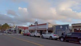 Мексиканский район на городке Сан-Диего старом - САН-ДИЕГО, США - 1-ОЕ АП акции видеоматериалы