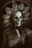 Мексиканский скелет бандита стоковая фотография