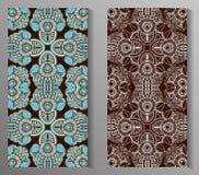 Мексиканский стилизованный talavera кроет безшовную картину черепицей Предпосылка для дизайна и моды Арабские, индийские картины Стоковая Фотография