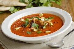 мексиканский суп пряный стоковые фотографии rf