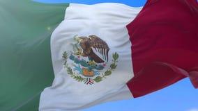 Мексиканский флаг акции видеоматериалы