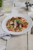 Мексиканский цыпленок с рисом стоковая фотография rf