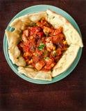 Мексиканский цыпленок стоковое изображение rf