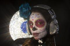 Мексиканский череп конфеты Стоковое Изображение