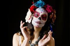 Мексиканский череп конфеты Стоковая Фотография